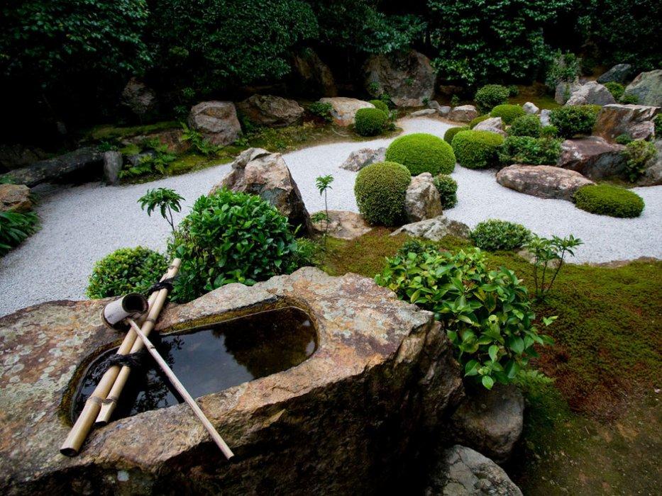 comment faire un jardin japonais portail. Black Bedroom Furniture Sets. Home Design Ideas