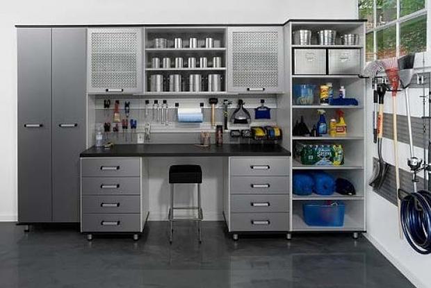Garage Interior Design Basic Best House Design Ideas