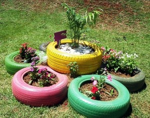 Id es d co r cuperation et recyclage portail - Deco jardin recyclage ...