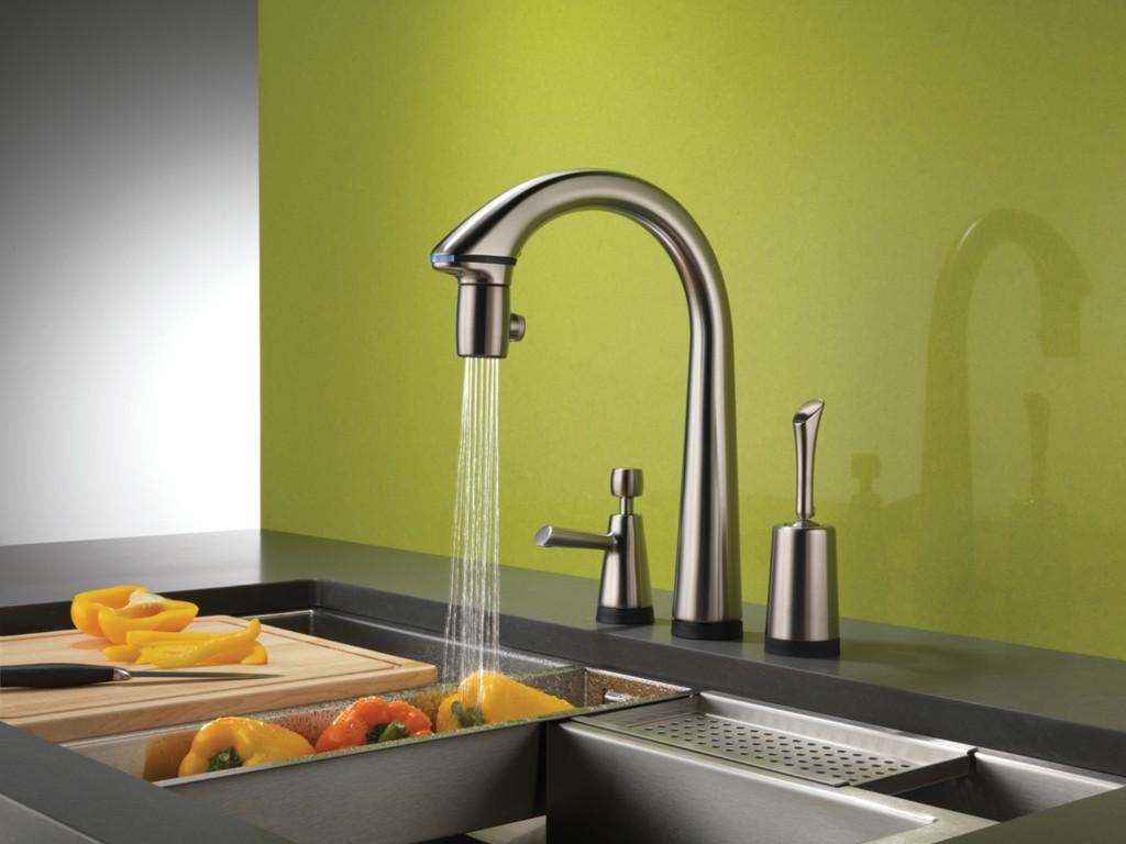 Choisir le bon robinet de cuisine portail maison - Robinetterie de cuisine ...