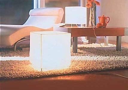 lampe cubique