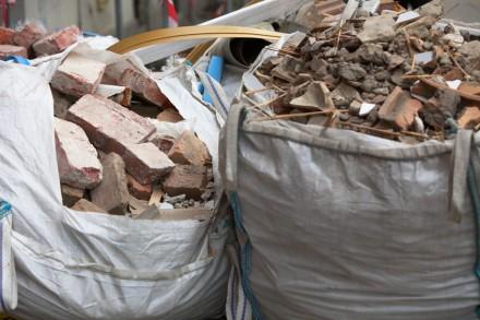 briques dechets recycles