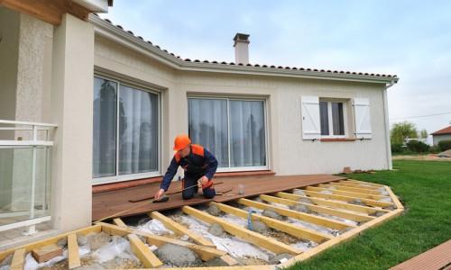 L'installation d'une terrasse composite