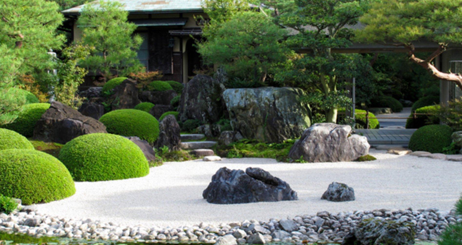 Faites de votre jardin un espace zen portail maison for Image de jardin zen